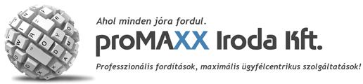 Fordítás - Promaxx Iroda